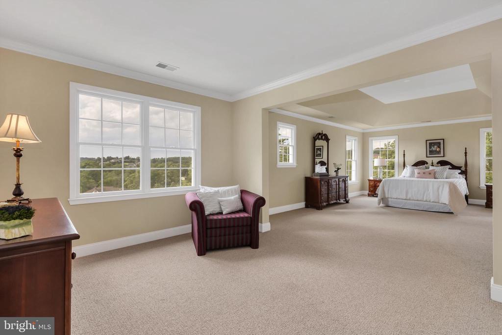 Master Bedroom Sitting Area - 18131 PERTHSHIRE CT, LEESBURG