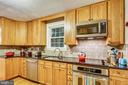 Cabinetry to the ceiling maximizes storage. - 2418 HURST ST, FALLS CHURCH