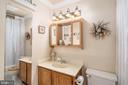 Guest Bathroom (Full) - 14864 SWALLOW CT, WOODBRIDGE