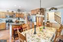 Kitchen/Dining - 14864 SWALLOW CT, WOODBRIDGE
