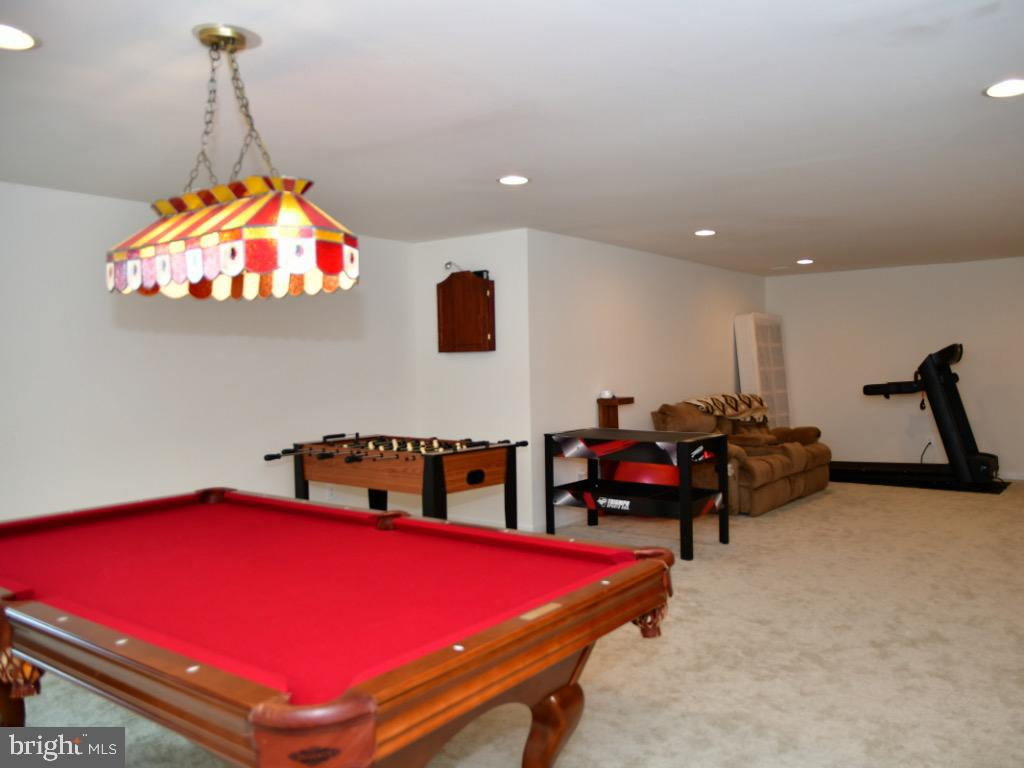 Beautiful finished basement - 42483 MADTURKEY RUN PL, CHANTILLY