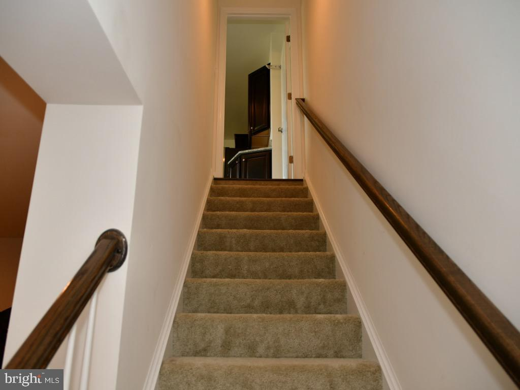 Stairs from basement to 1st floor - 42483 MADTURKEY RUN PL, CHANTILLY