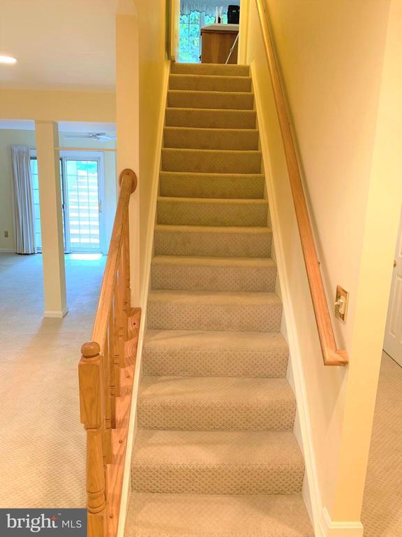 Brand new Berber carpet in lower level. - 2405 SAGARMAL CT, DUNN LORING