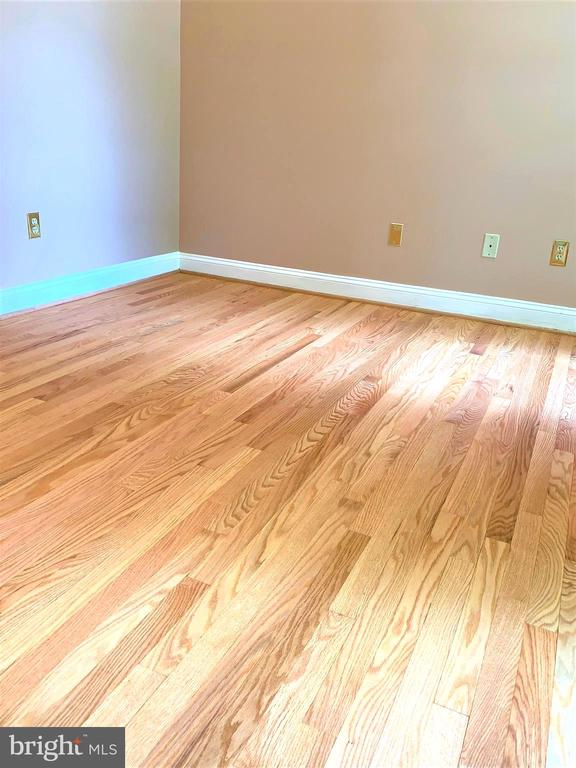 HW floors sanded & refinished in natural oil. - 2405 SAGARMAL CT, DUNN LORING
