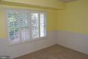 Bedroom #3 with wainscoting - 12809 SHADOW OAK LN, FAIRFAX