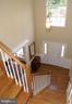 Sweeping stairway - 12809 SHADOW OAK LN, FAIRFAX