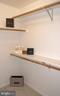 His walk-in closet - 12809 SHADOW OAK LN, FAIRFAX