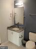 Lower level updated full bath - 12809 SHADOW OAK LN, FAIRFAX