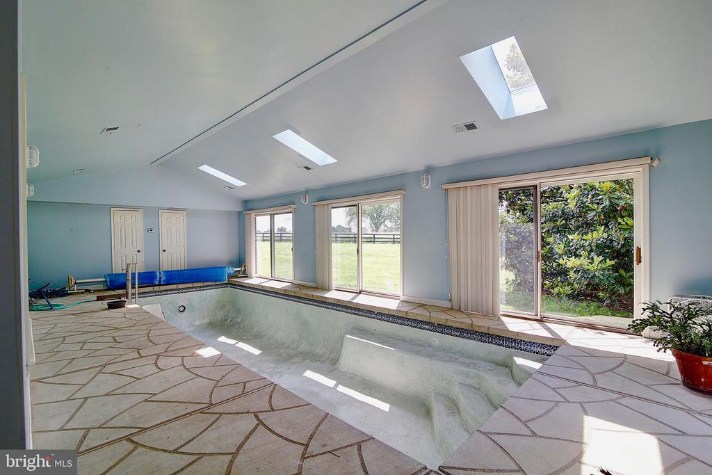 Indoor pool. - 23118 PANTHERSKIN LN, MIDDLEBURG