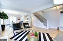Bright, open floor plan - 3624 NORTON PL NW, WASHINGTON