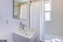 Main level full bathroom - 3624 NORTON PL NW, WASHINGTON