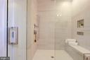Owner's bathroom shower - 3624 NORTON PL NW, WASHINGTON
