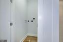 Second level laundry closet - 3624 NORTON PL NW, WASHINGTON