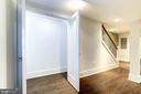 Under stair storage closet - 3624 NORTON PL NW, WASHINGTON
