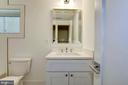 Lower level full bathroom - 3624 NORTON PL NW, WASHINGTON