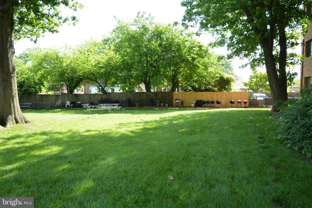 Yard Space and grilling area - 3515 WASHINGTON BLVD #211, ARLINGTON