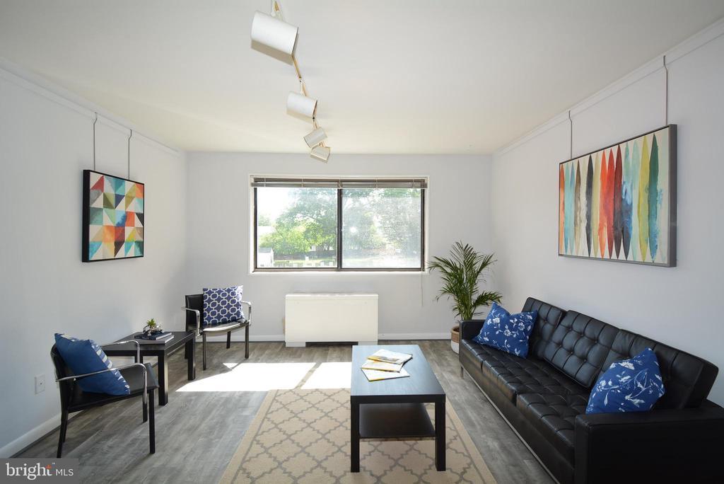 Living Room - 3515 WASHINGTON BLVD #211, ARLINGTON