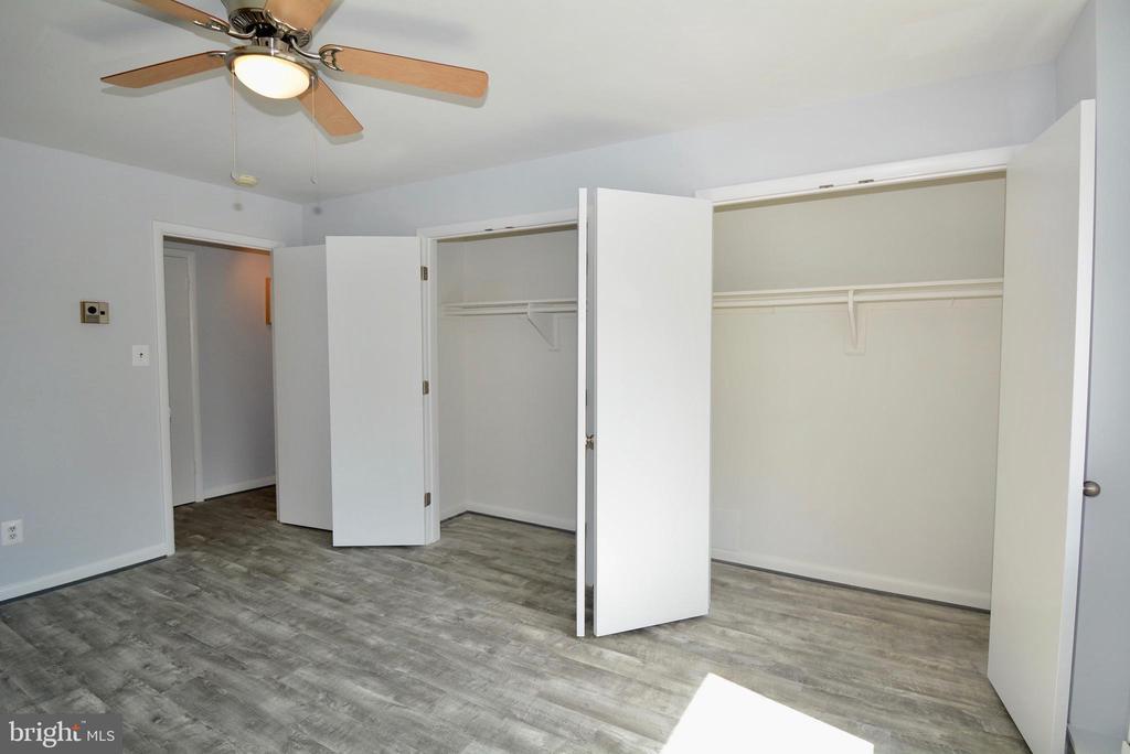 Lots of closet space in Bedroom 2 - 3515 WASHINGTON BLVD #211, ARLINGTON