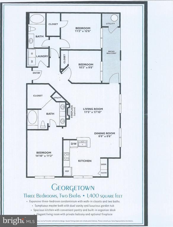 Floorpan - 11750 OLD GEORGETOWN RD #2135, ROCKVILLE