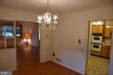Dining Room to Living room - 3827 N ABINGDON ST, ARLINGTON