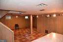 Basement  Rec Room - 3827 N ABINGDON ST, ARLINGTON