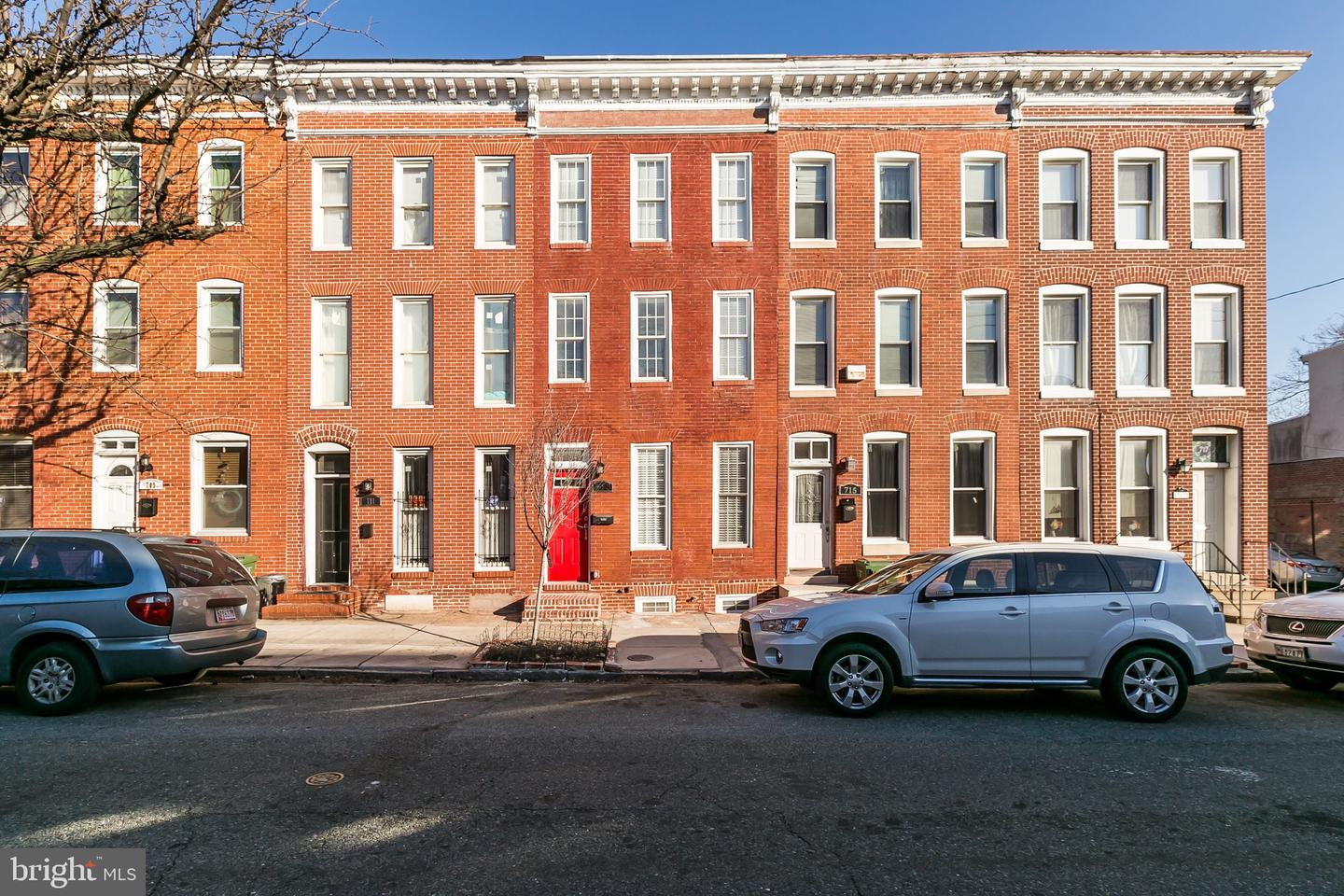 Single Family for Sale at 713 Scott St Baltimore, Maryland 21230 United States