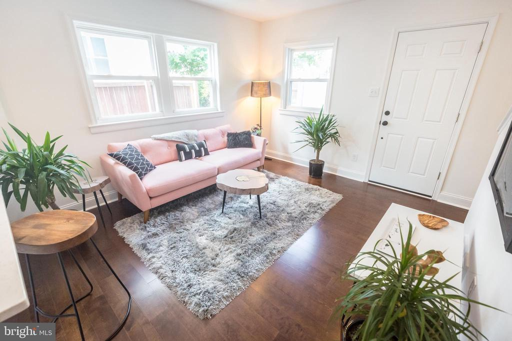 Hardwood Floors - 3659-3661 HORNER PL SE, WASHINGTON