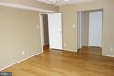 Master bedroom with 2 closets and master bath - 2114 GREEN WATCH WAY #301, RESTON