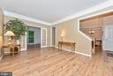 Living Room is freshly painted with new floors too - 1706 DEARBOUGHT CT, FREDERICK