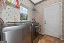 Laundry Room is just off of kitchen. - 1706 DEARBOUGHT CT, FREDERICK