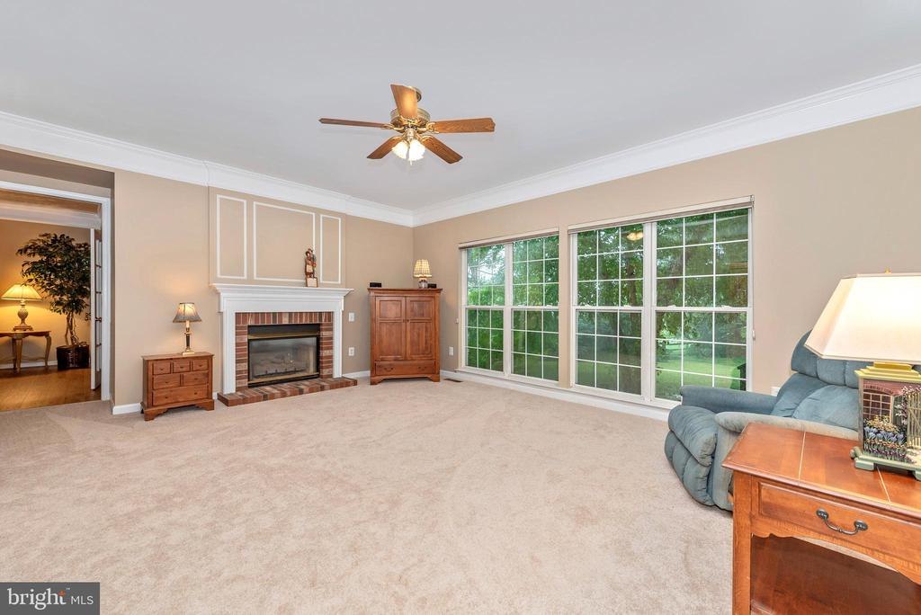 Family Room with loads of light and space. - 1706 DEARBOUGHT CT, FREDERICK