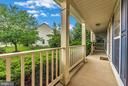 Relax on the front porch. - 1706 DEARBOUGHT CT, FREDERICK