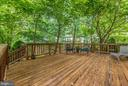 Great space to relax in the shade. - 1706 DEARBOUGHT CT, FREDERICK
