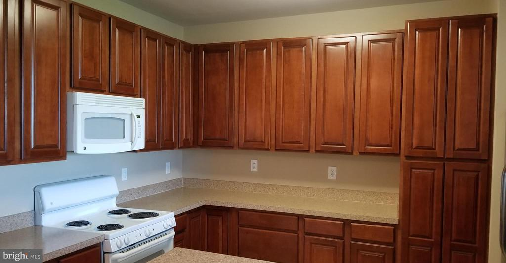 Upgrade 4 ft cabinets with  plenty counter space - 14301 KINGS CROSSING BLVD #303, BOYDS