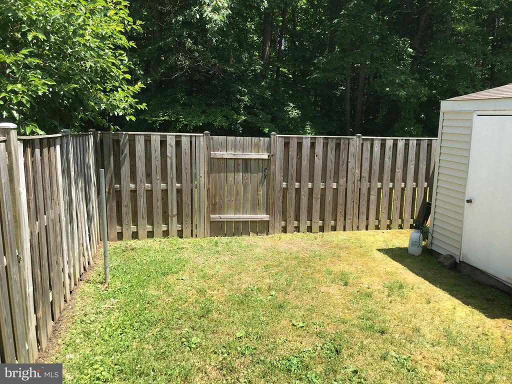 Backyard (Angle IV) - 8173 WILLOWDALE CT, SPRINGFIELD