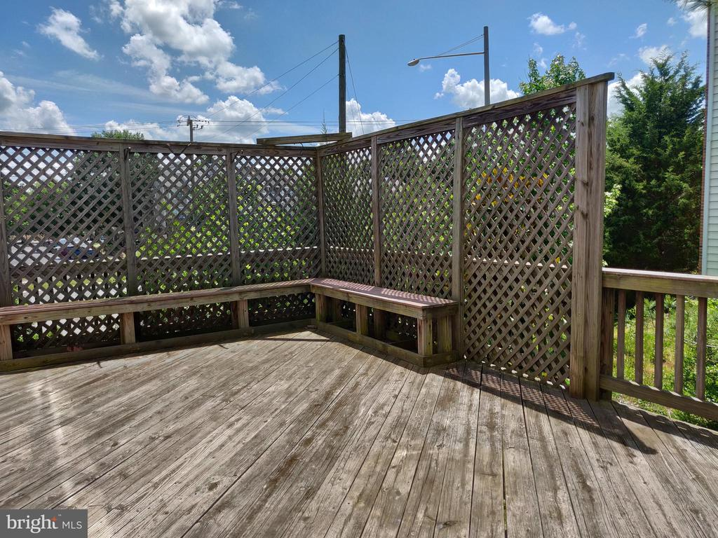 Deck - 5690 FAIRCLOTH CT, CENTREVILLE