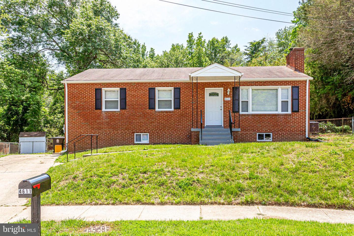 Single Family for Sale at 4611 Eaton Dr Suitland, Maryland 20746 United States