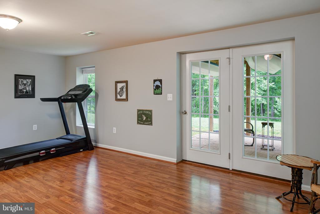 Walk out Basement , french doors lead to the patio - 16339 WOODGROVE RD, ROUND HILL