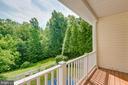 Balcony off Family Room - 9413 PRIMROSE LN, MANASSAS PARK