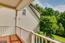 Balcony off Family Rooom - 9413 PRIMROSE LN, MANASSAS PARK