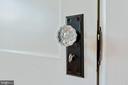 Door Knob Detail - 110 S JEFFERSON ST, MIDDLETOWN