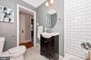 Upper level Full Bathroom - 110 S JEFFERSON ST, MIDDLETOWN