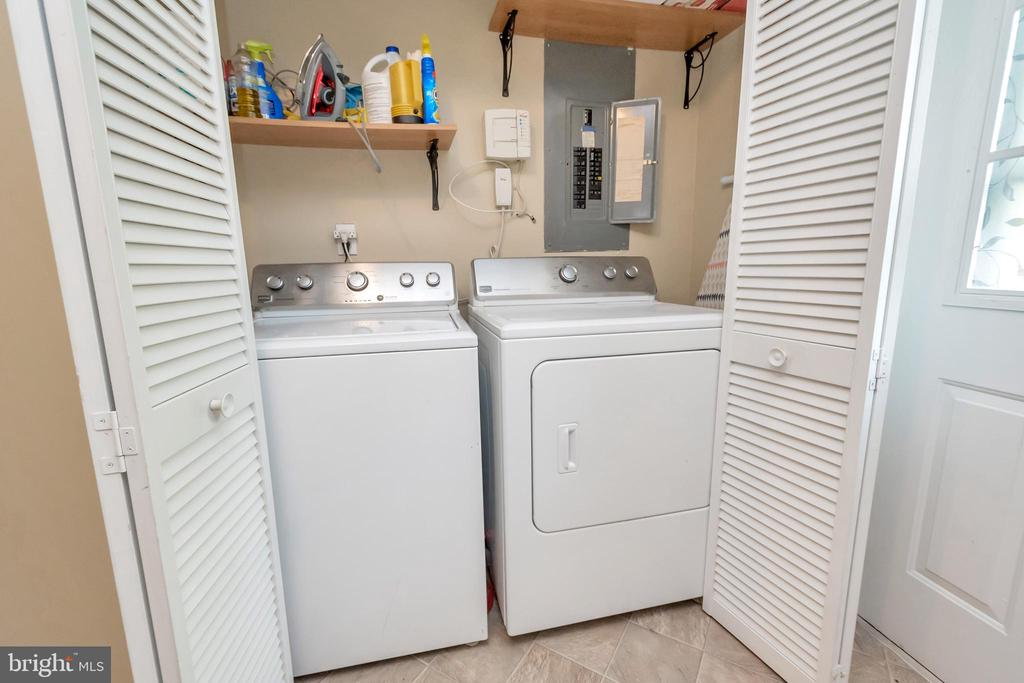 Laundry Area - 107 PATTERSON AVE, FREDERICKSBURG