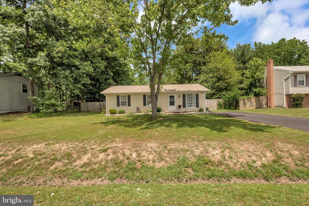 Spacious Front yard - 107 PATTERSON AVE, FREDERICKSBURG