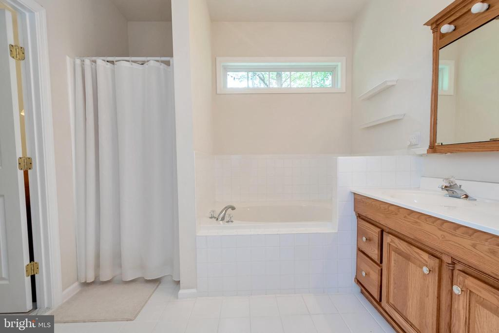 Master bath w soaking tub and separate shower - 1400 LAKEVIEW PKWY, LOCUST GROVE