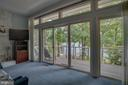 Master has sliding glass doors to deck - 615 LAKEVIEW PKWY, LOCUST GROVE