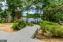 Walkway to the water - 615 LAKEVIEW PKWY, LOCUST GROVE