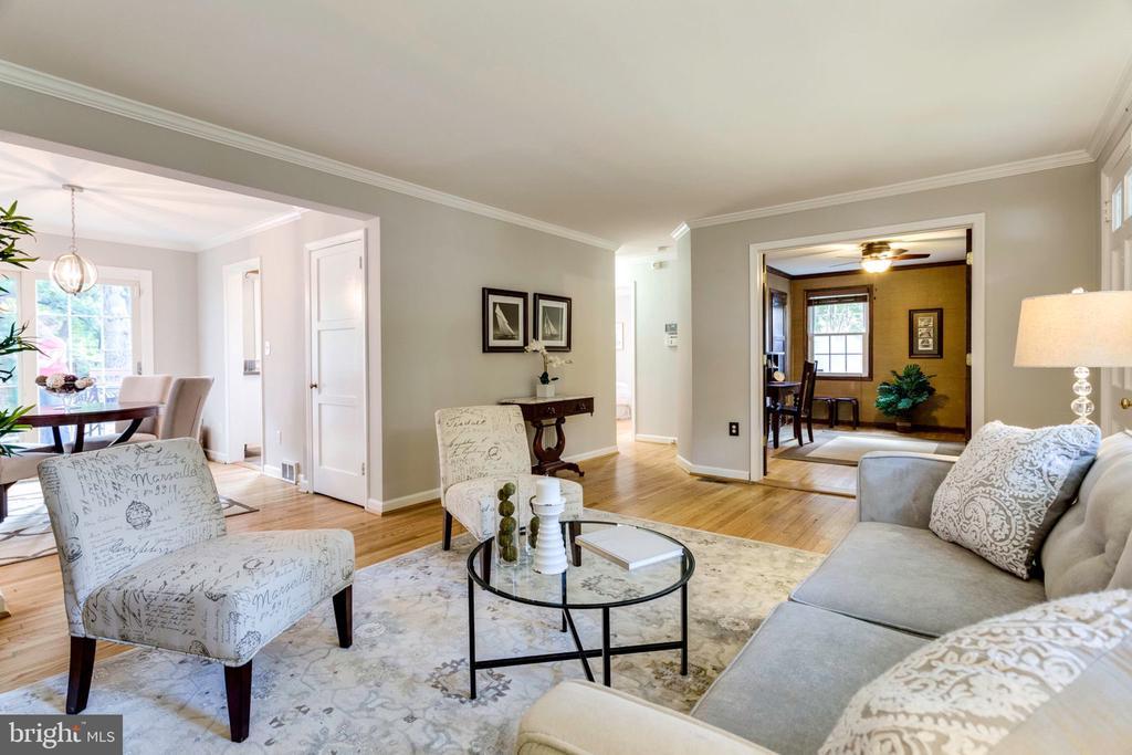 Living room - 1709 S QUINCY ST, ARLINGTON