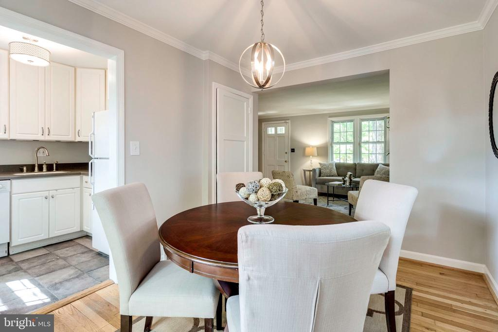 Dining room - 1709 S QUINCY ST, ARLINGTON