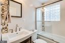 Full bath on main level - 1709 S QUINCY ST, ARLINGTON